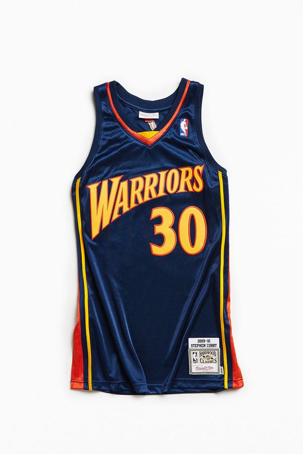 separation shoes 78397 79ce0 Mitchell & Ness Stephen Curry Basketball Jersey