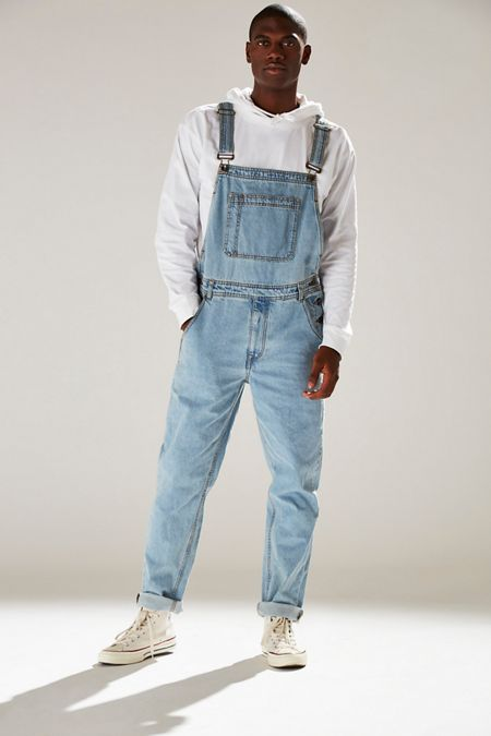 c9a876c76ba4 BDG Light Stonewash Denim Overall