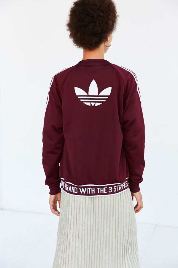 7021427a5d8 adidas Originals Adicolor Supergirl Track Jacket | Urban Outfitters