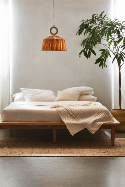 Amelia Platform Bed Urban Outfitters