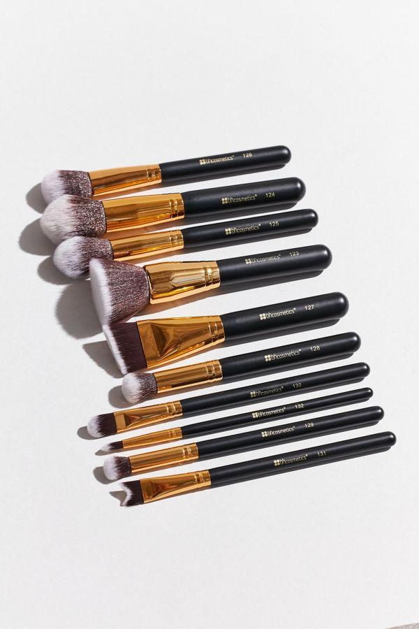 660370e91d47 bh cosmetics 10 Piece Sculpt + Blend 2 Brush Set