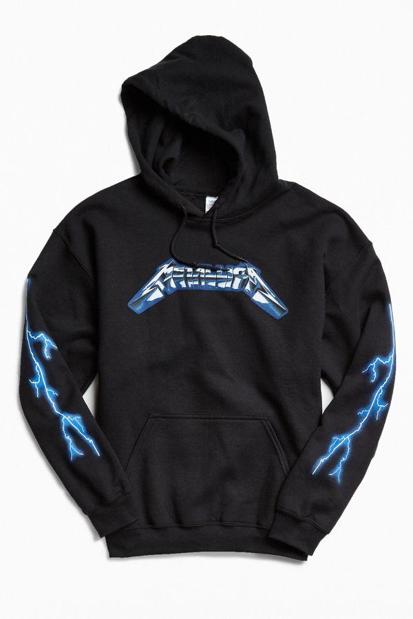 07ce75e4 Metallica Ride The Lightning Hoodie Sweatshirt   Urban Outfitters