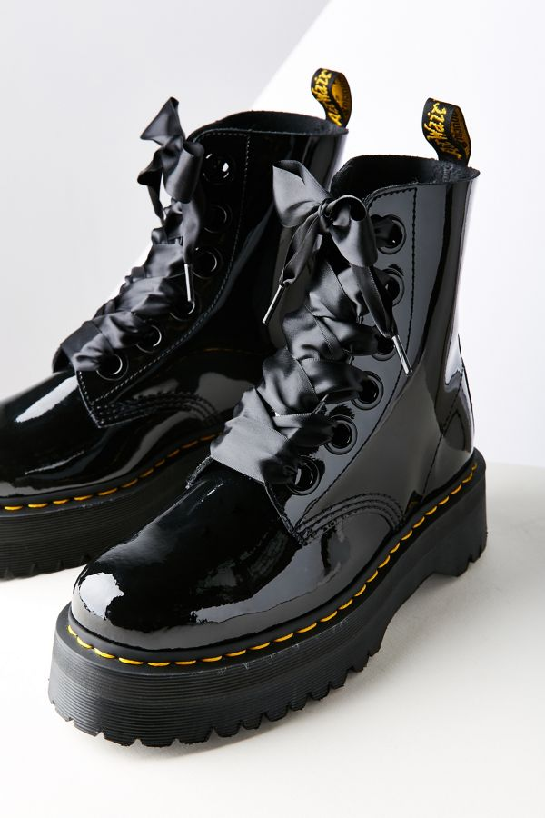 Molly Patent Leather DrMartens Lolita Boot bgY6f7y