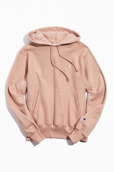 cream champion hoodie