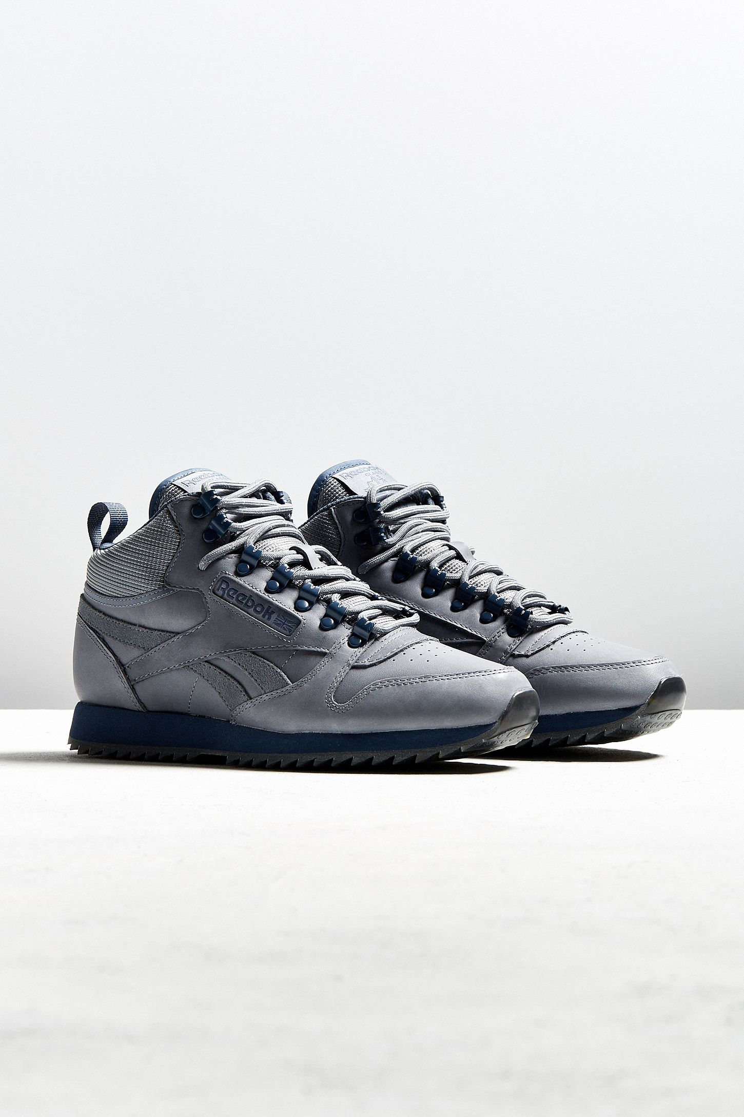 76c25f53582 Reebok Classic Leather Mid Ripple Sneaker
