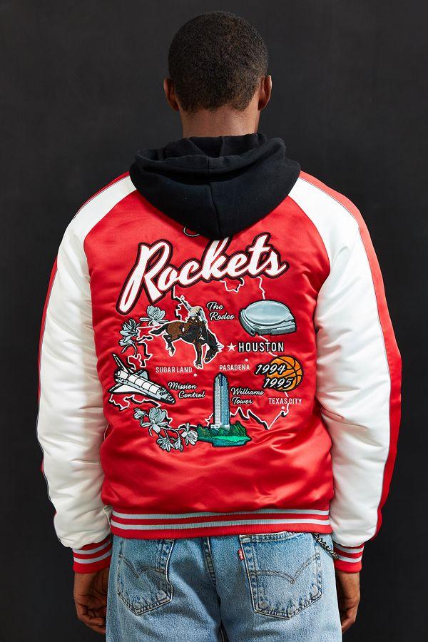 online store da439 72bfe Starter Black Label + UO NBA Houston Rockets Souvenir Jacket