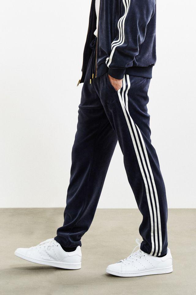 adidas Velour Superstar Track Pant
