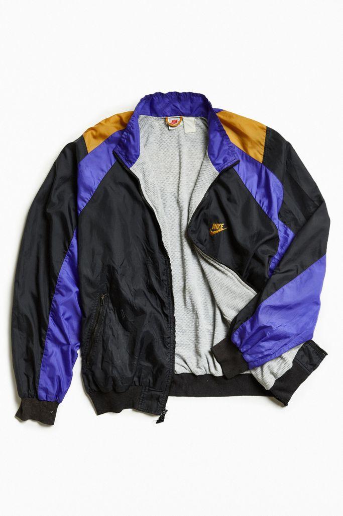 Jugar juegos de computadora perdí mi camino empeorar  Vintage Nike Windbreaker Jacket | Urban Outfitters