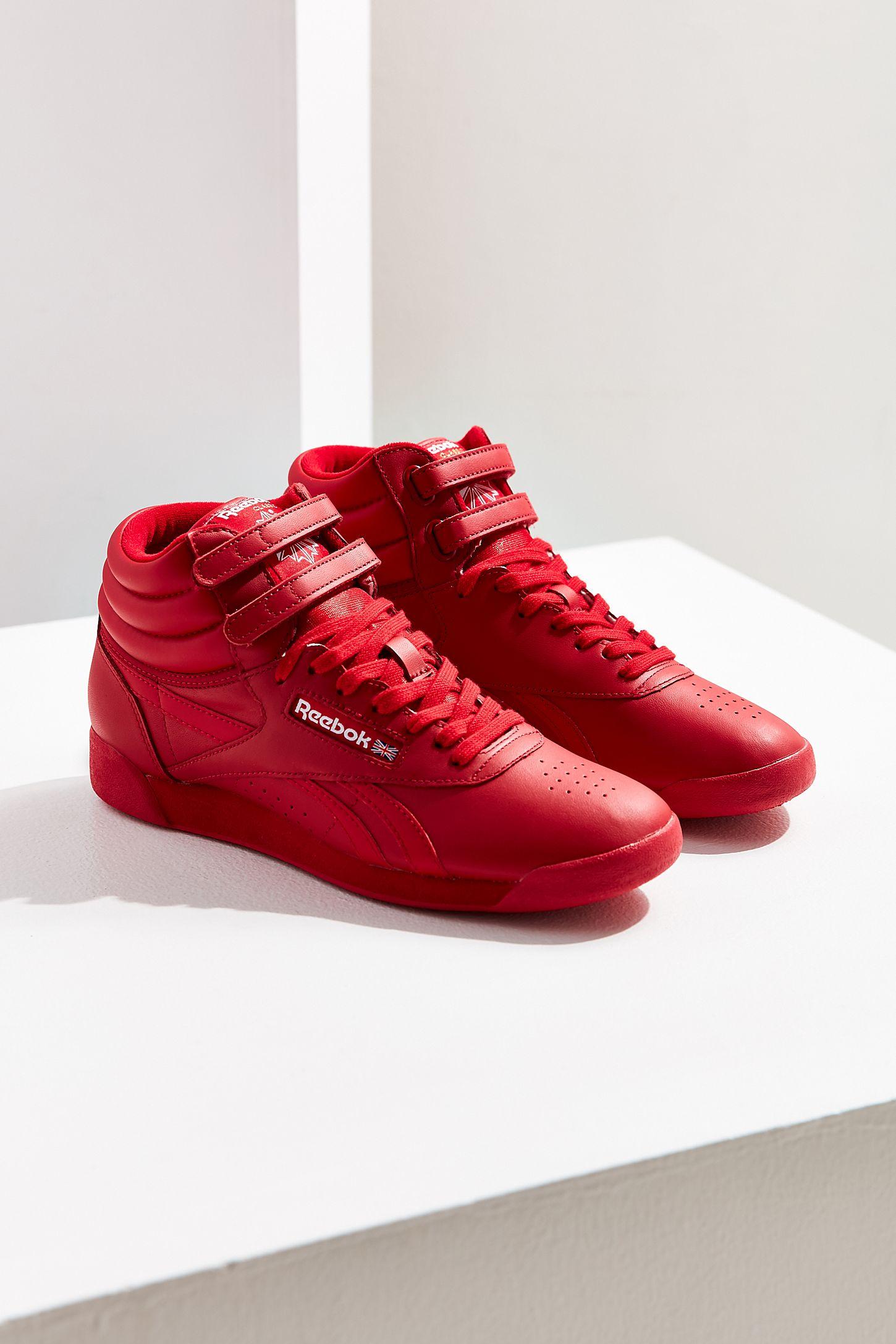 23bb0aef2c715 Reebok Freestyle Hi OG Lux Sneaker