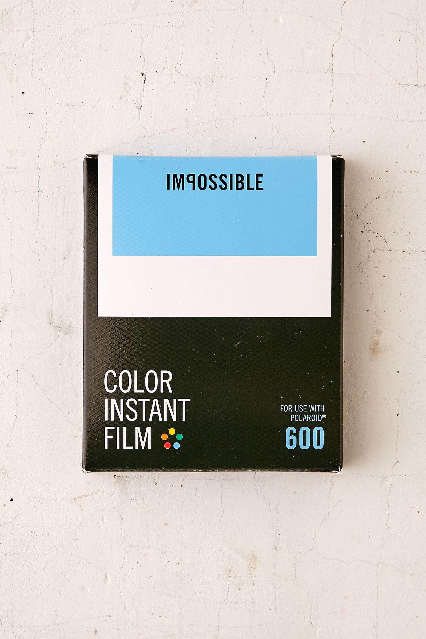 7e2a602bcae Impossible Color Polaroid 600 Instant Film