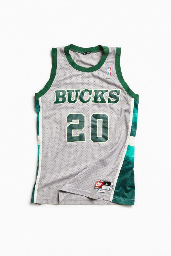 1626c980 Vintage Gary Payton Bucks Jersey | Urban Outfitters