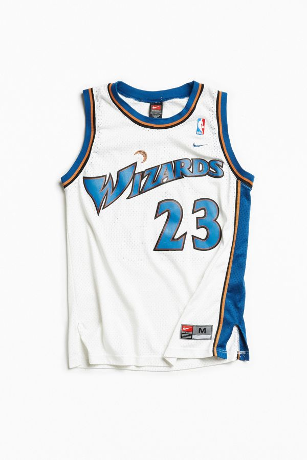 factory authentic 2fdfc cfffe Vintage Michael Jordan Wizards Jersey | Urban Outfitters