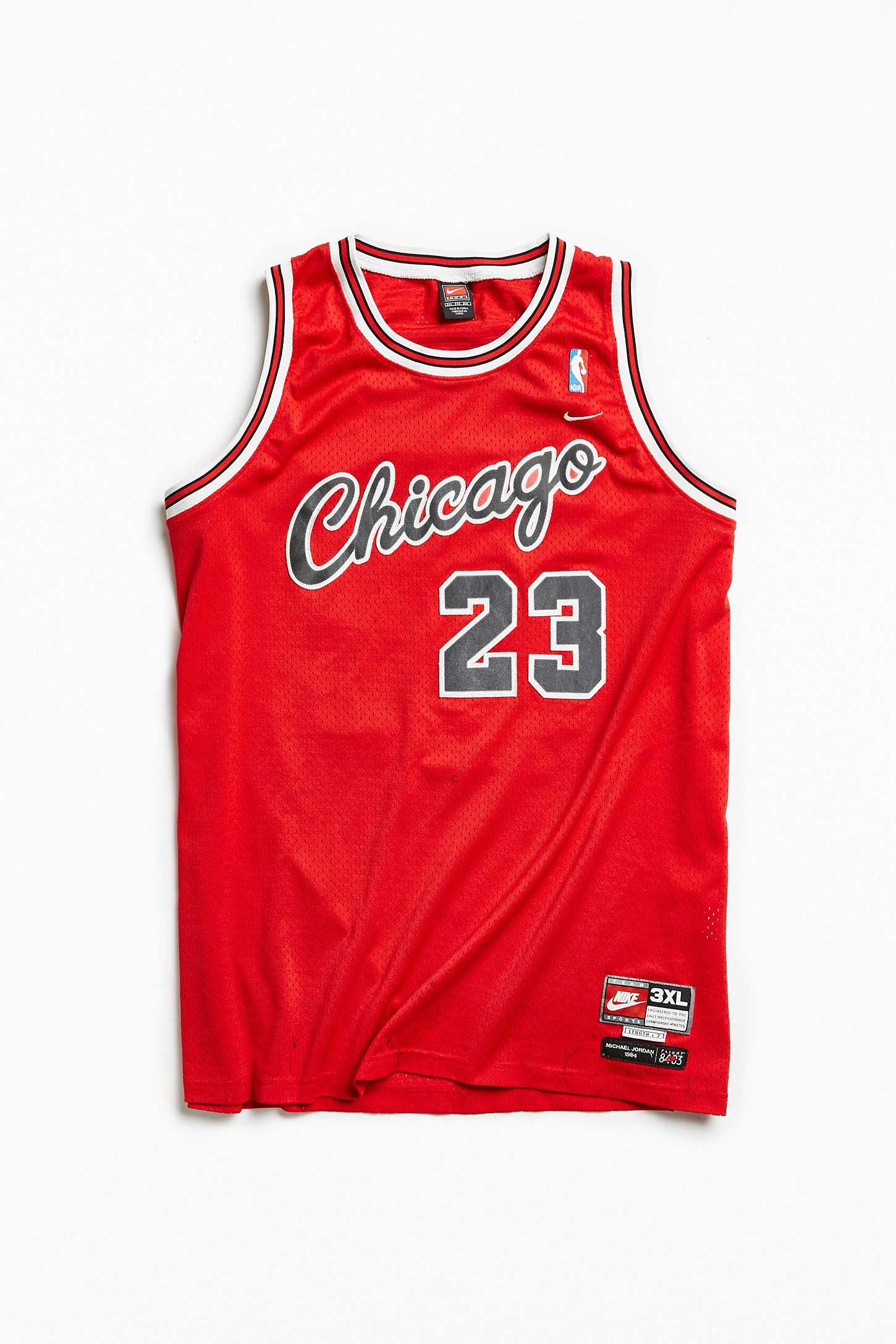 12a04fbb5c6 Vintage Michael Jordan Bulls 3XL Jersey. Tap image to zoom. Hover to zoom.  Double Tap to Zoom