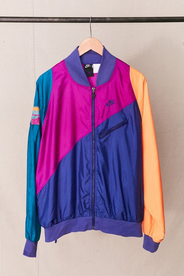 fc1aeec9b534 Vintage Nike Neon Flight Windbreaker Jacket
