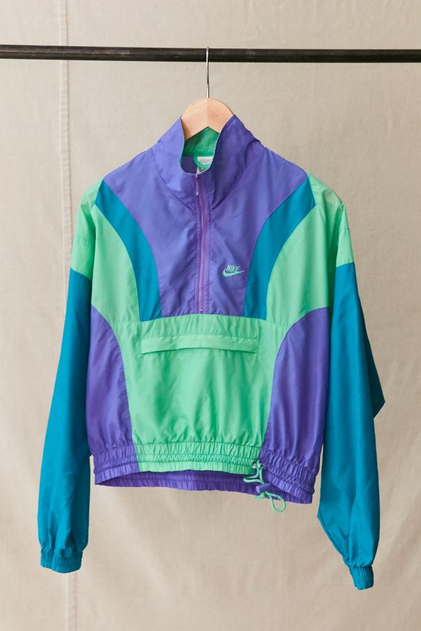 sports shoes detailed pictures pretty cool Vintage Nike Pullover Windbreaker Jacket | Urban Outfitters