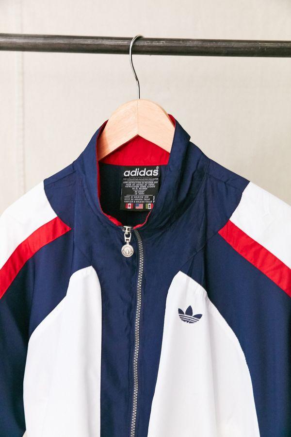 adidas Originals Blue Red Gold White Cx4752 Fontanka Jacket Men's M