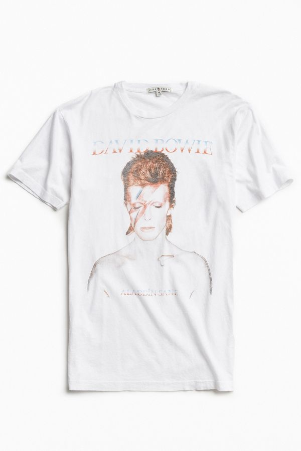 77e516ec David Bowie Aladdin Sane Tee | Urban Outfitters