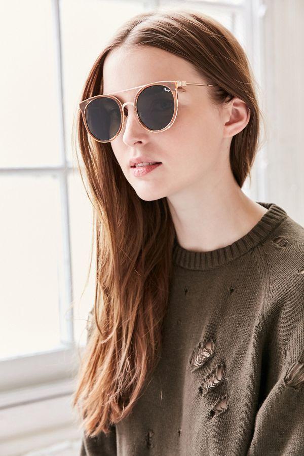 887126d4a8 Quay Kandygram Round Sunglasses