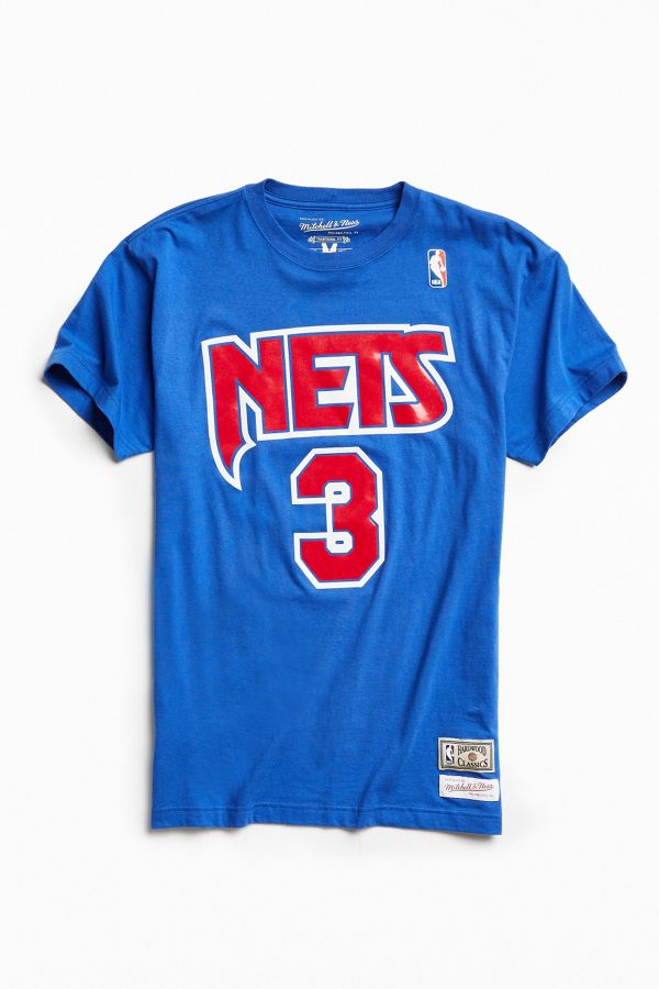 on sale 215a2 9a093 Mitchell & Ness New Jersey Nets Drazen Petrovic Tee