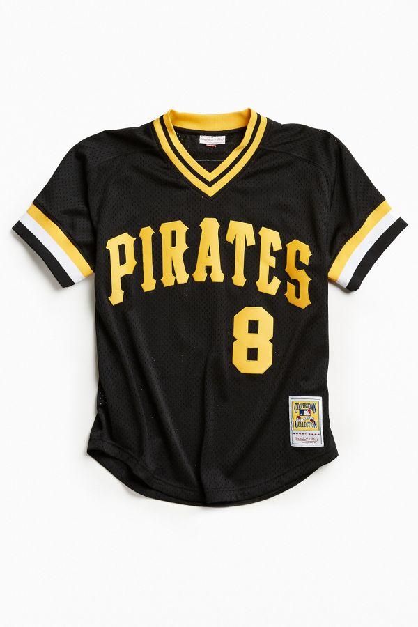 super popular 5e1db fde3f Mitchell & Ness Pittsburgh Pirates Jersey