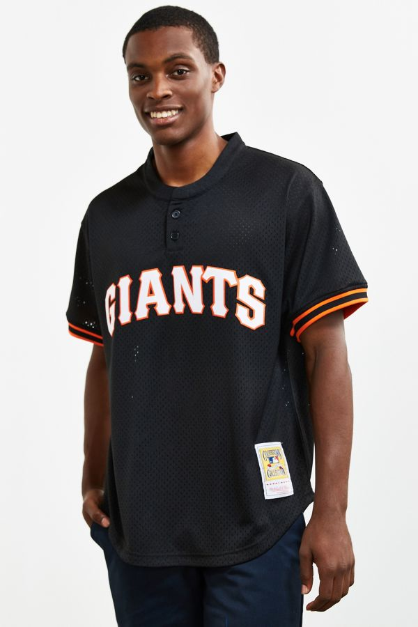 new arrival 43ff5 4bf82 Mitchell & Ness San Francisco Giants Jersey