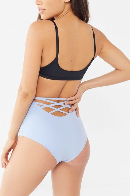 453b25786aa Out From Under Strappy-Back High-Waisted Bikini Bottom · Quick Shop