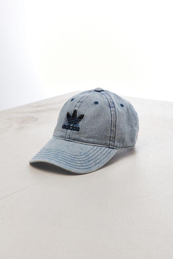 2084f5d6e30 adidas Relaxed Denim Baseball Hat