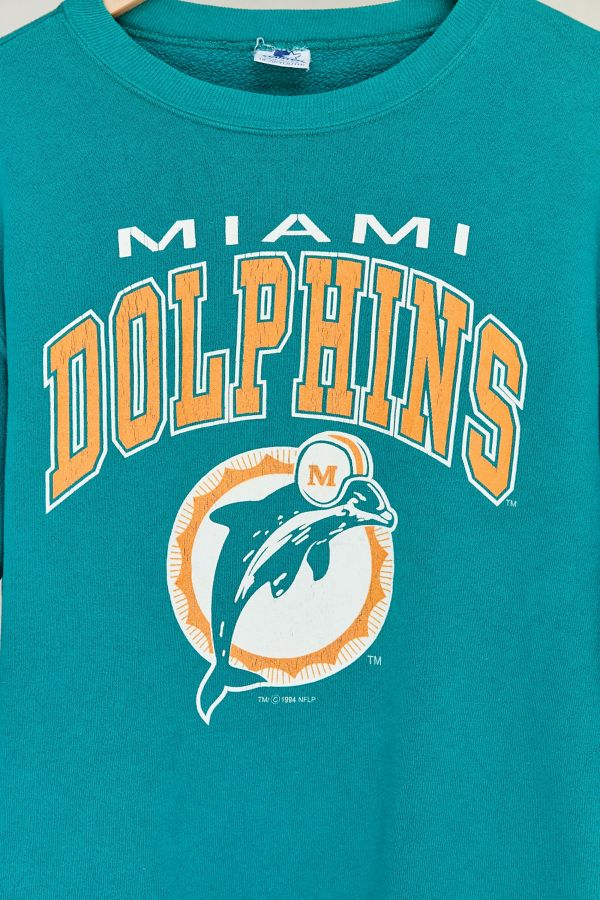 new product be992 05b31 Vintage Miami Dolphins Sweatshirt | Urban Outfitters