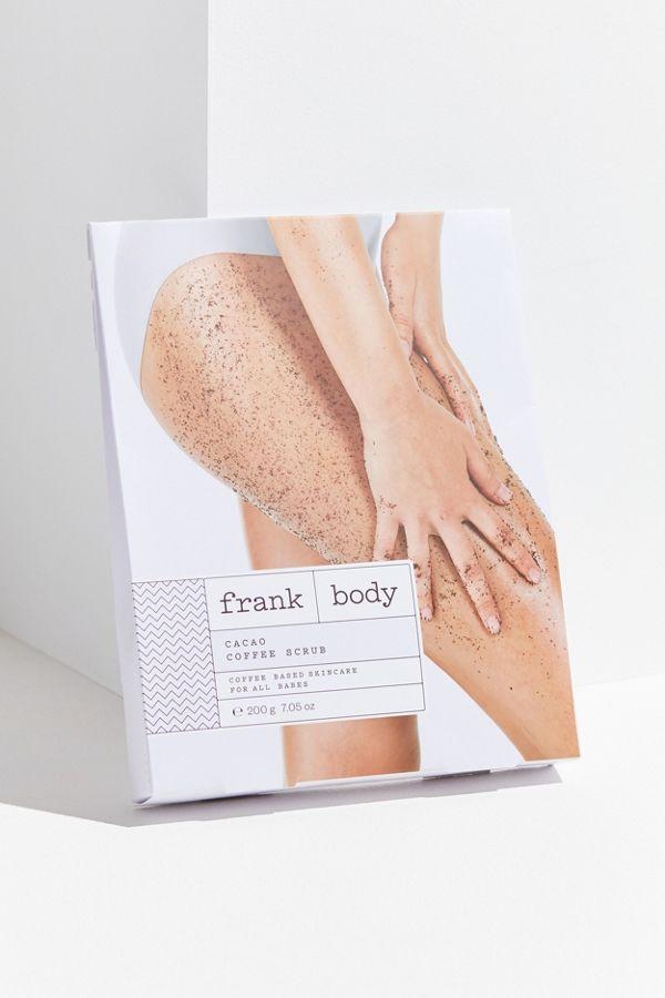 Franks Body Shop >> Frank Body Coffee Scrub