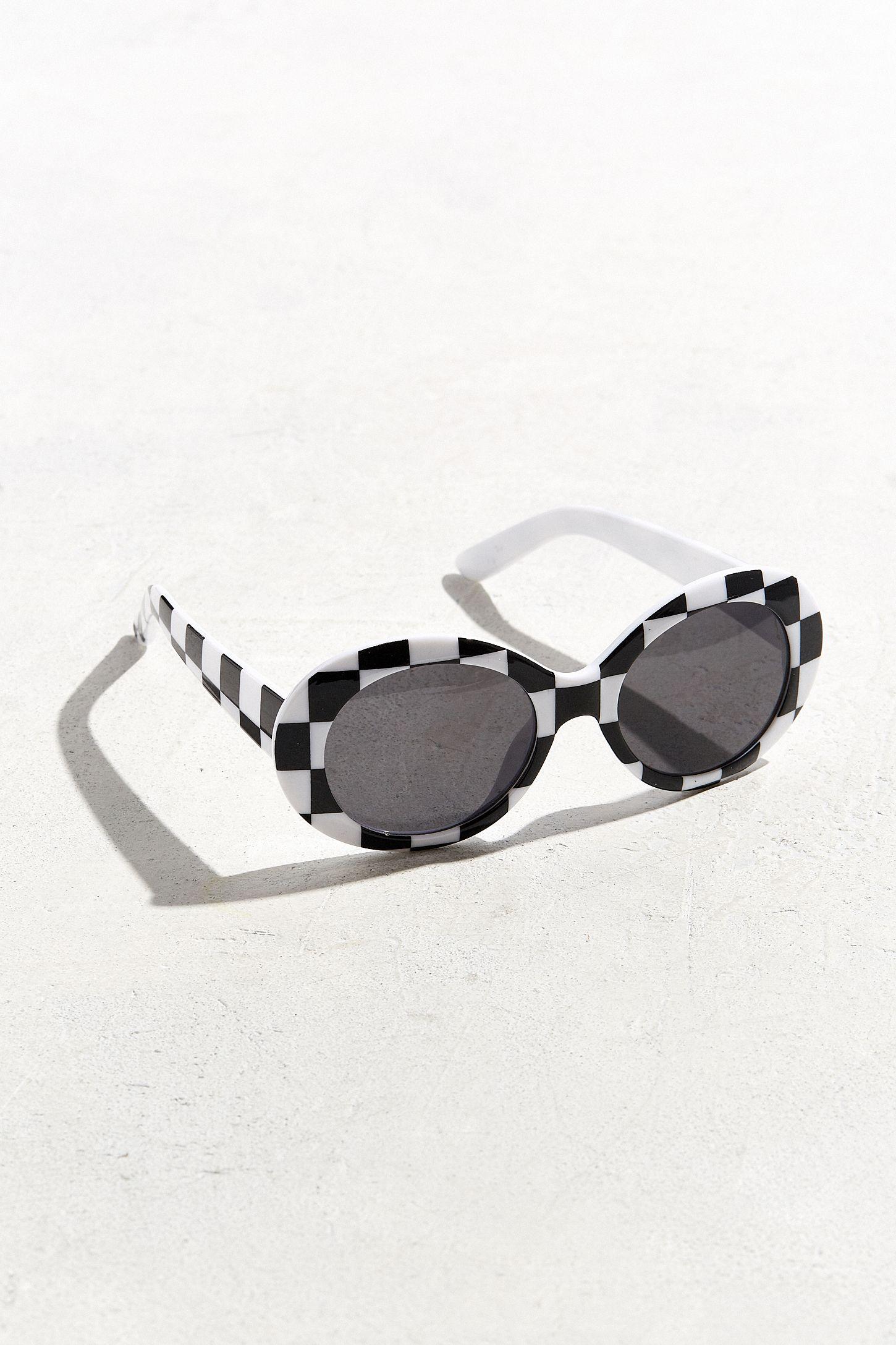 9d1ffda0aed UO Plastic Oval Sunglasses