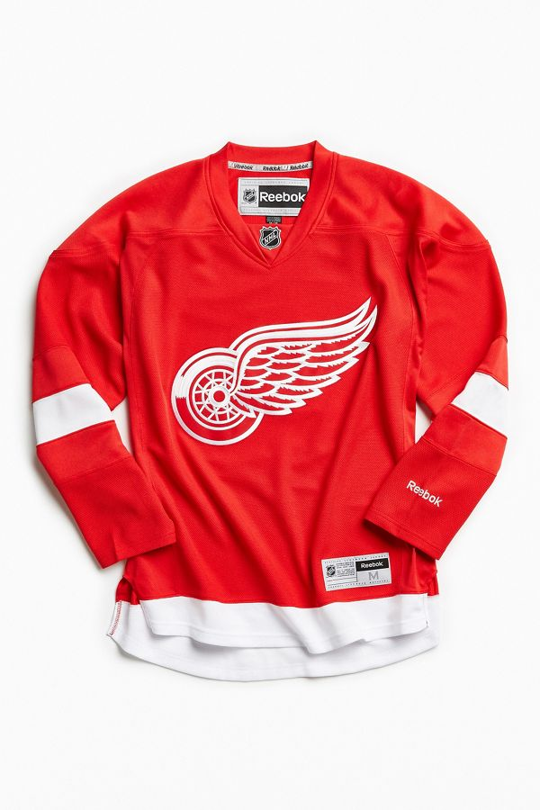 quality design 8f16a 0bd6a Reebok NHL Detroit Red Wings Hockey Jersey