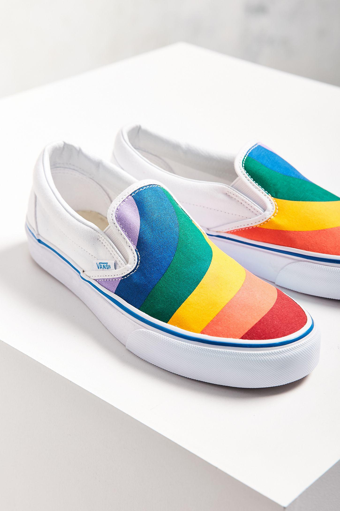 24164547ea9 Vans Rainbow Slip-On Sneaker | Urban Outfitters