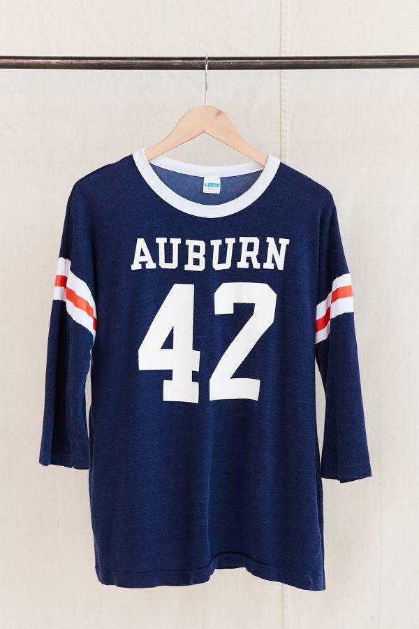 Vintage Auburn Football Jersey Tee Urban Outfitters