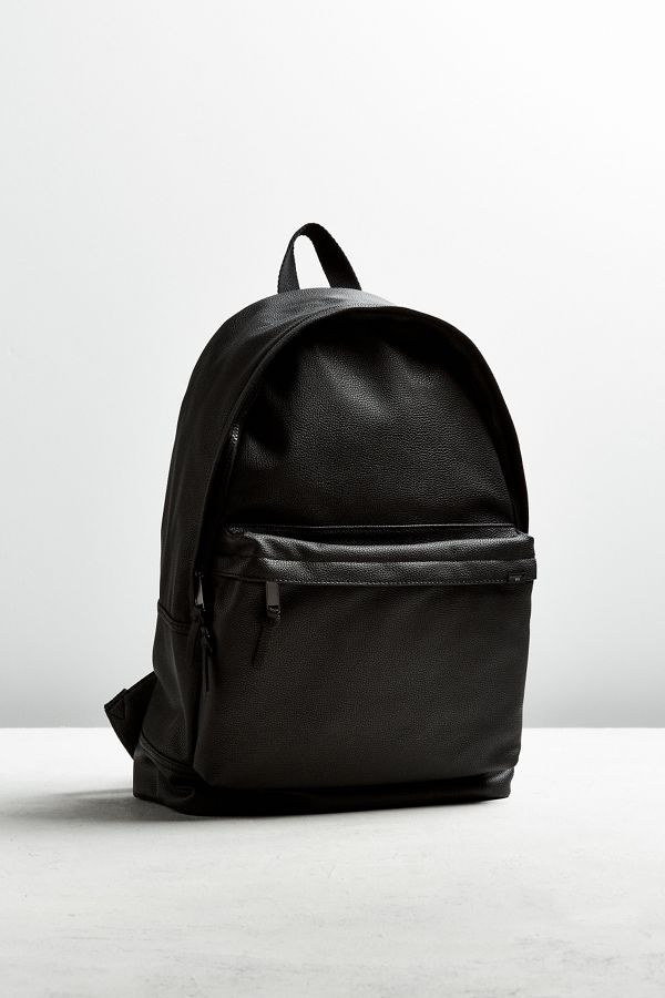 Luxe Faux Leather Backpack