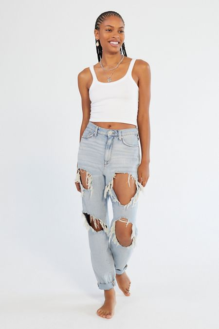 1ace6328cd Mom Jeans For Women | Urban Outfitters