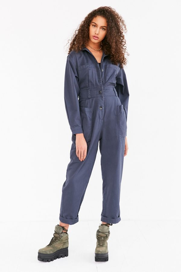 f1300a9f3082 BDG  80s High-Waist Coverall Jumpsuit