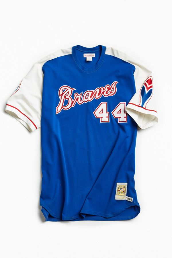 super popular 35e27 71c2d Vintage MLB Atlanta Braves Hank Aaron Jersey | Urban Outfitters