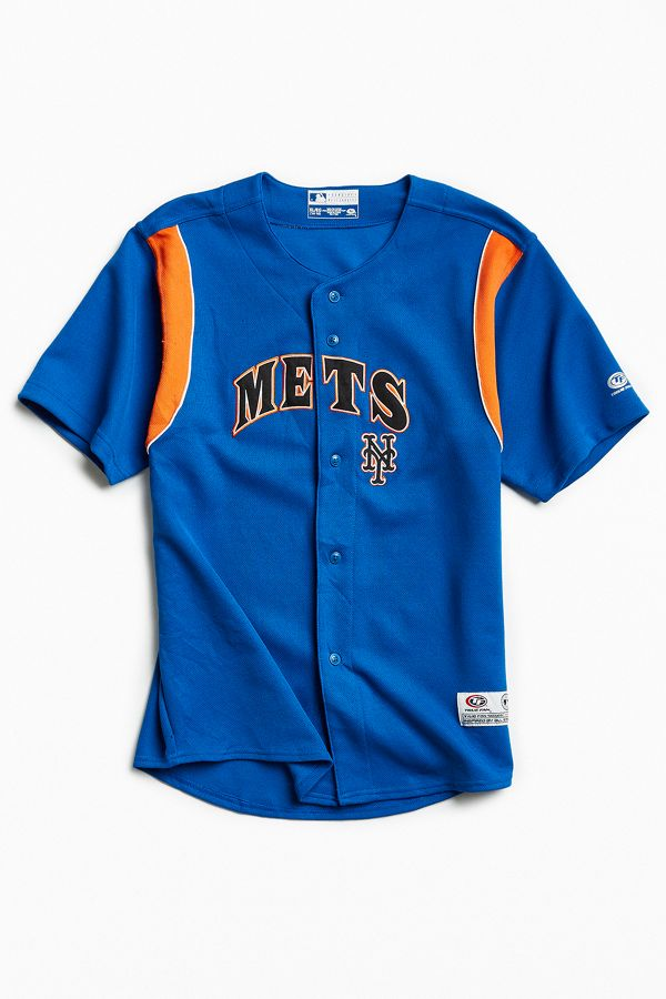 sports shoes 911f4 2922f Vintage MLB New York Mets Jersey | Urban Outfitters
