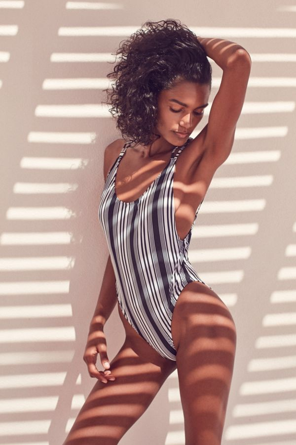 b4ab774ff28 Out From Under Printed Scoop Back One-Piece Swimsuit | Urban Outfitters