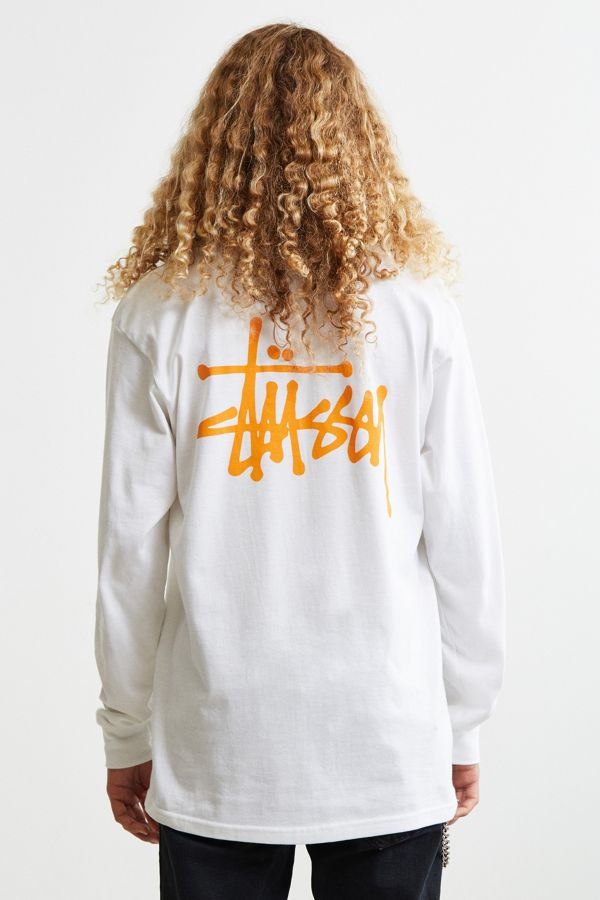 89773ad8a4dc Stussy Basic Long Sleeve Tee | Urban Outfitters Canada