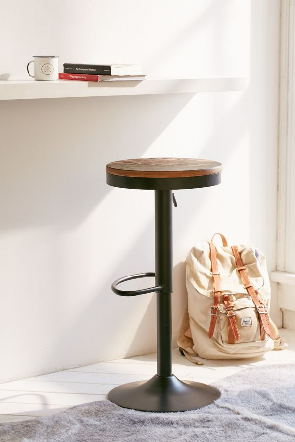Outstanding Dakota Adjustable Stool Theyellowbook Wood Chair Design Ideas Theyellowbookinfo