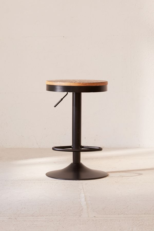Peachy Dakota Adjustable Stool Andrewgaddart Wooden Chair Designs For Living Room Andrewgaddartcom