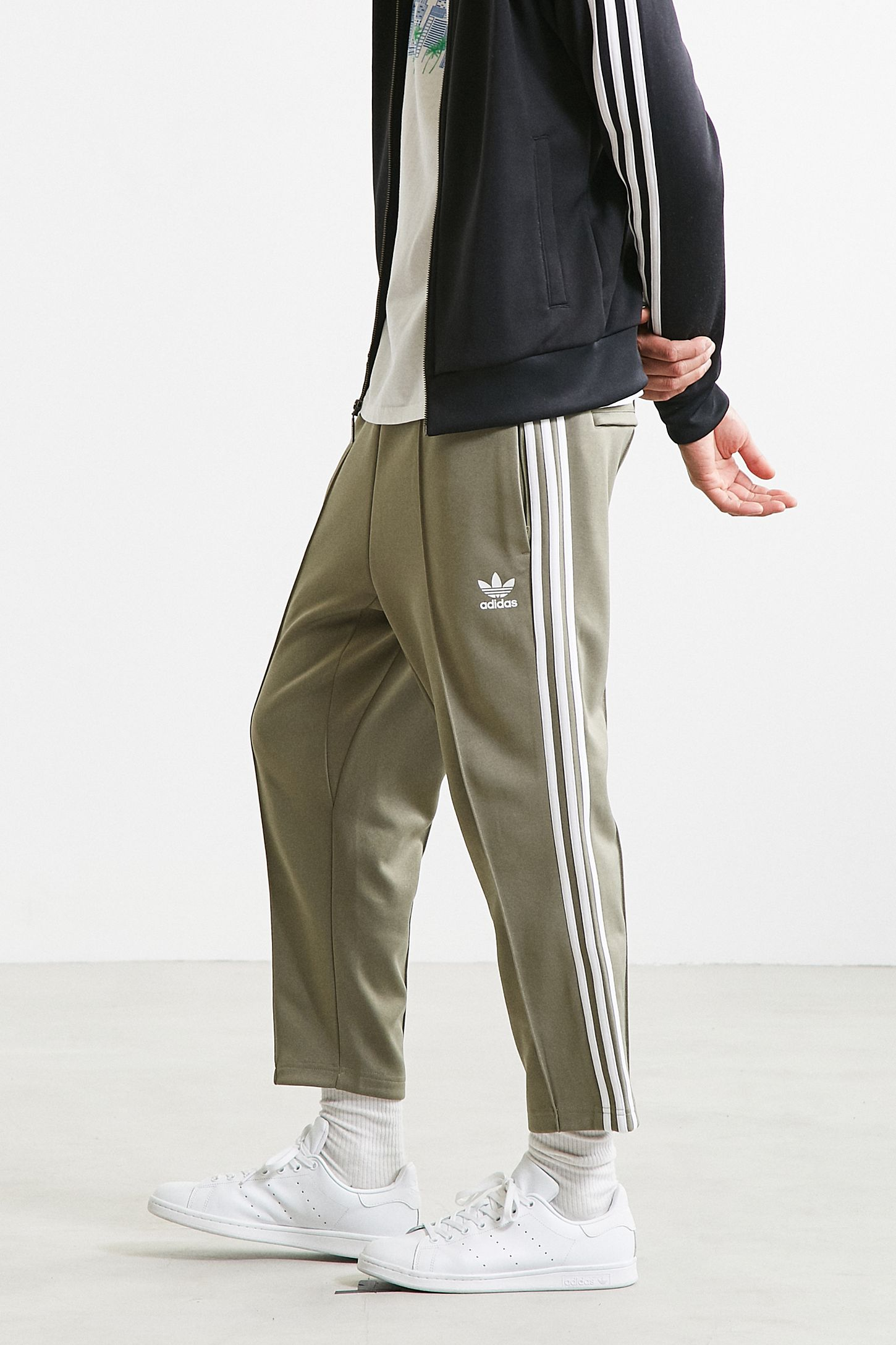 a1e77b58d7ea adidas Superstar Relaxed Cropped Track Pant