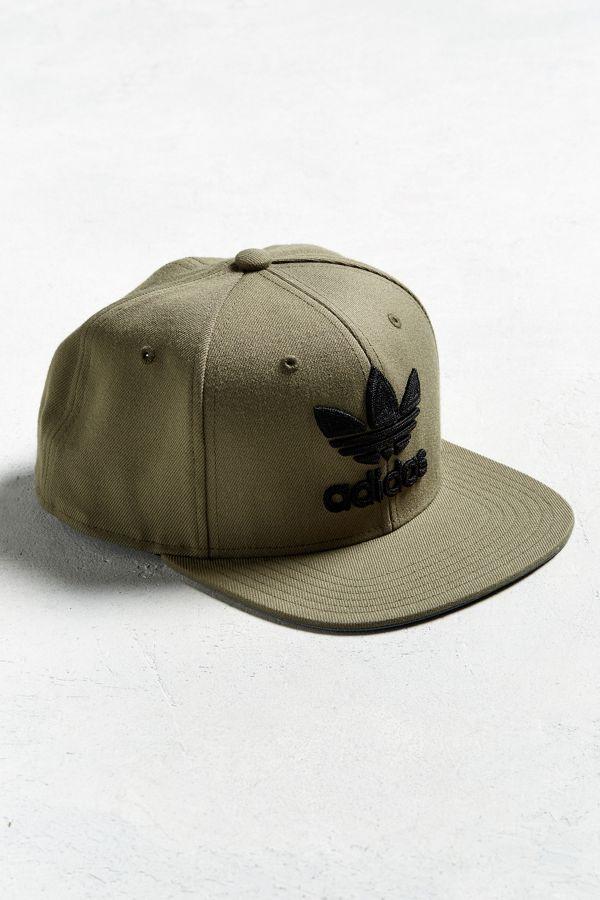 baeebcf46ee9c adidas Originals Trefoil Chain Snapback Hat