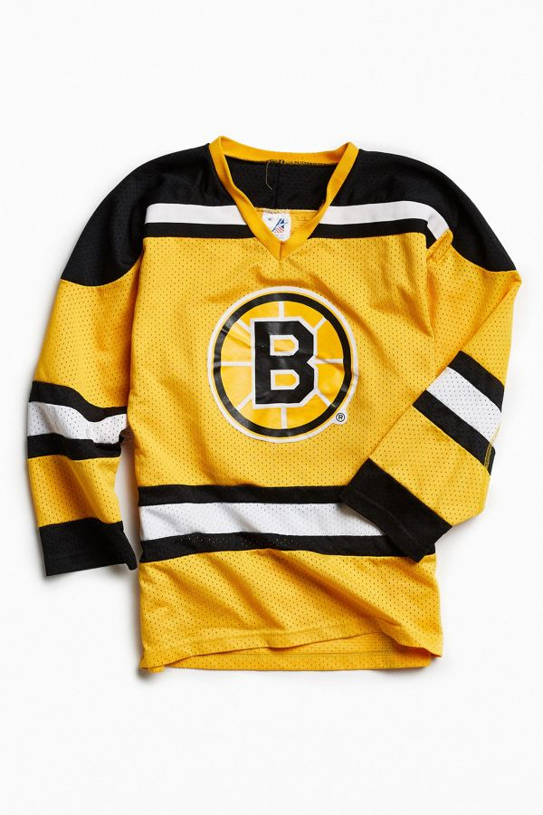 quality design 7769c 574c1 Vintage NHL Boston Bruins Hockey Jersey | Urban Outfitters ...
