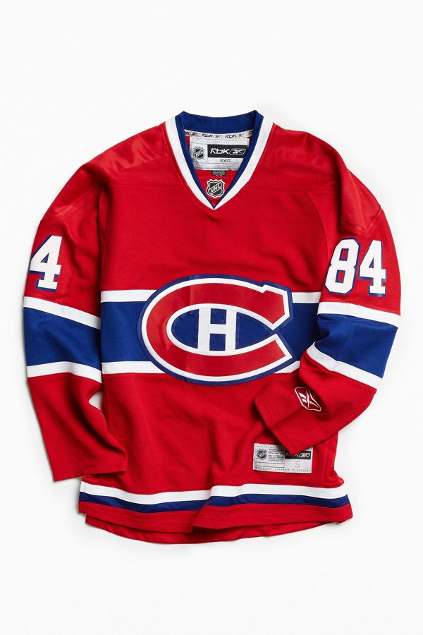 best sneakers e1591 d526d Vintage NHL Montreal Canadiens Guillaume Latendresse Hockey Jersey
