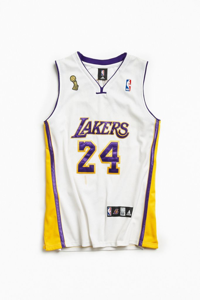 Vintage Nba Los Angeles Lakers Kobe Bryant Basketball Jersey Urban Outfitters