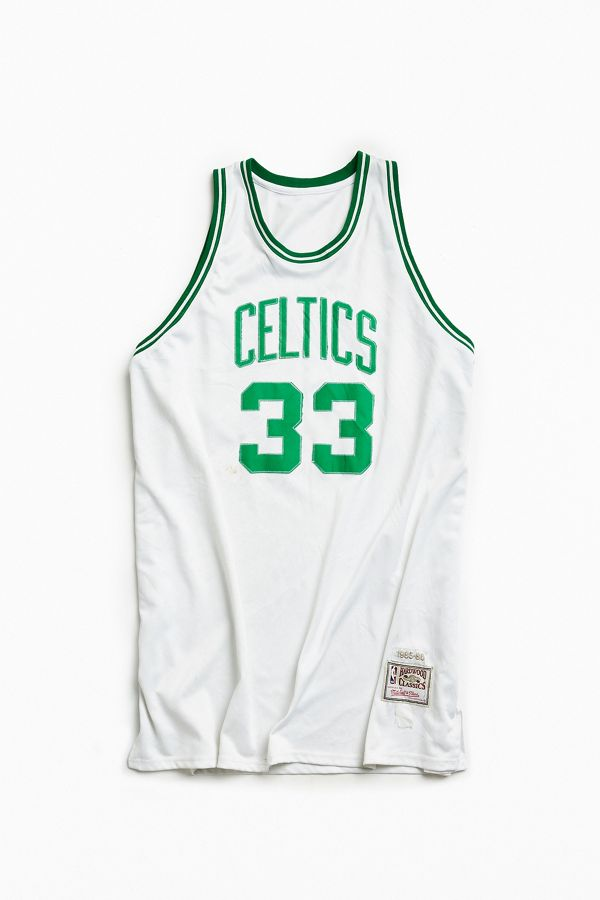 buy online 43074 53bce Vintage NBA Boston Celtics Larry Bird Basketball Jersey