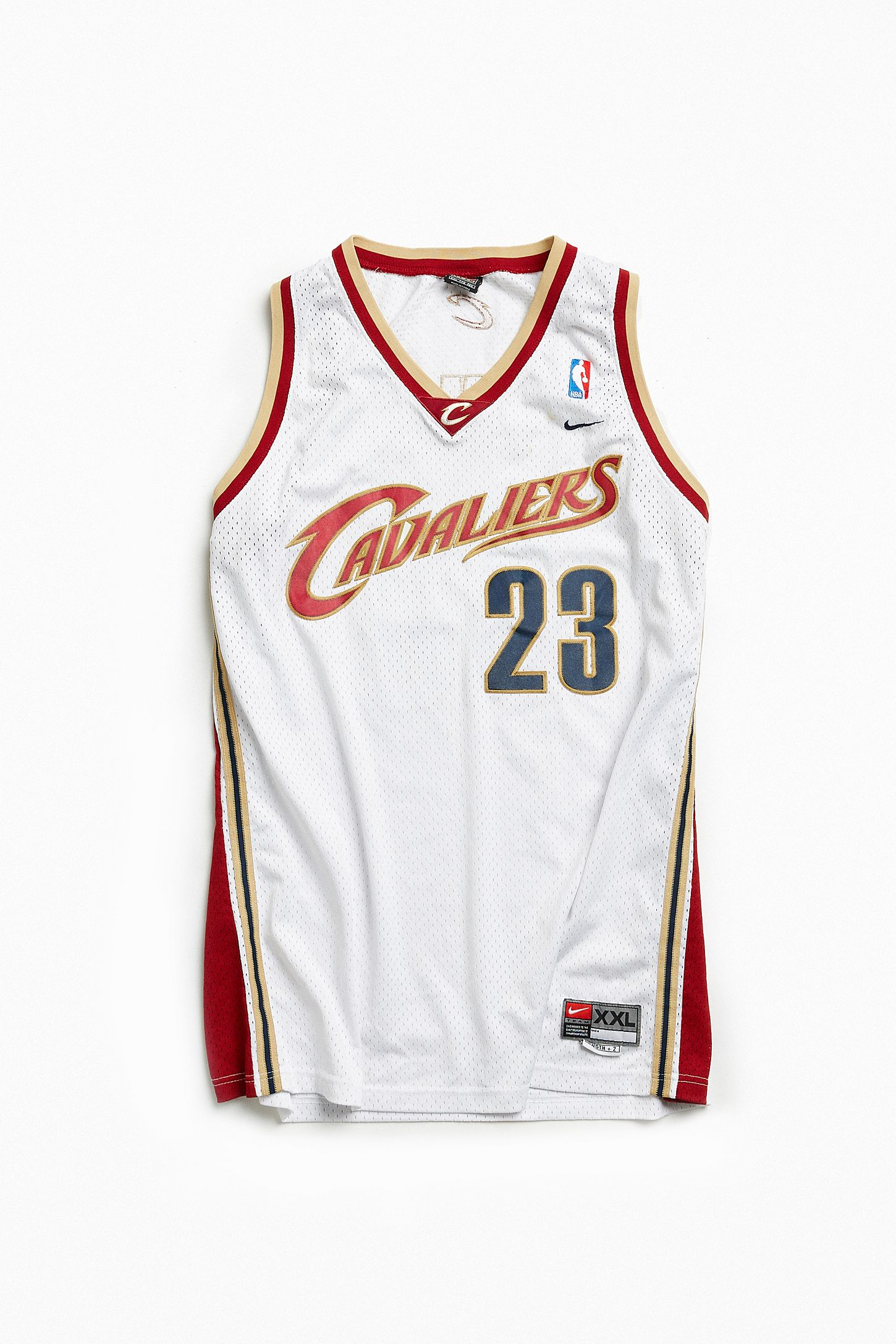 cab959887 Vintage NBA Cleveland Cavaliers LeBron James Basketball Jersey ...