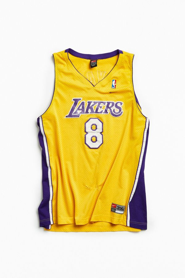 new styles 61e46 4bff4 Vintage NBA Los Angeles Lakers Kobe Bryant Basketball Jersey ...